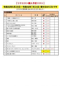 ☆R1.7月選定分(6.28~7.24)のサムネイル