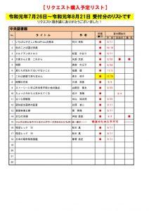 ☆R1.8月選定分(7.26~8.21)のサムネイル