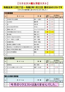 ☆R2.1月選定分(12.27~1.22)のサムネイル
